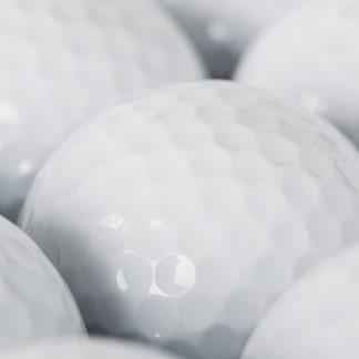 Golfballen met logo